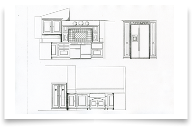 kitchen design service plans